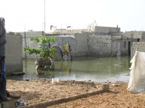 Les inondations à Yembeule-sud
